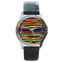 Colorful Fantasy Unisex Round Metal Watch Gift model 34851622 - $13.99