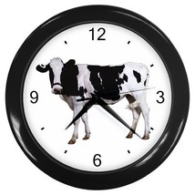 Cow Decorative Wall Clock (Black) Gift model 14485458 - $18.99