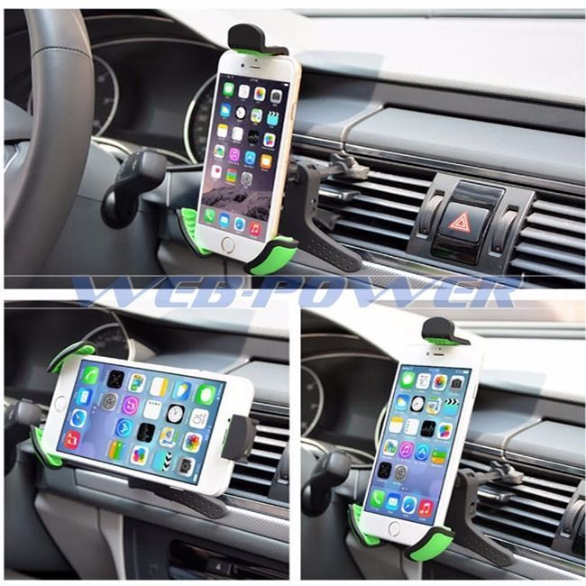 Universal Car Air Vent Mount Holder Samsung Galaxy S3 S4 S5 S6  Note 3 4 EDGE