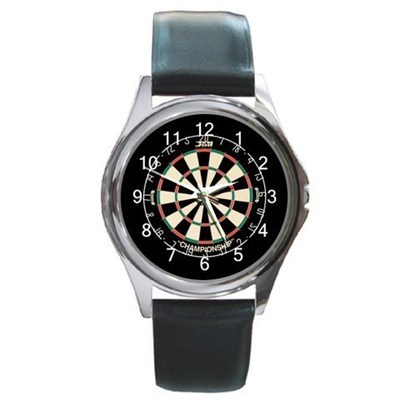 Darts Championship Unisex Round Metal Watch Gift model 24149667