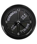 Dumbbell Barbell Wall Clock  Decorative Wall Clock (Black) Gift 15137019 - $18.99