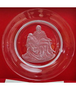 "Vintage Danbury Mint Full Lead Crystal 10"" Michelangelo ""Pieta"" Collecto... - $9.95"