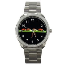 Four Red Frogs Sport Metal Watch Gift model 32049587 - $15.99