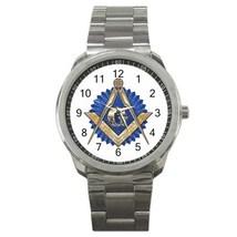 Freemason Mason Masonic Sport Metal Watch Gift model 32049388 - $15.99