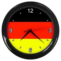 German Flag Decorative Wall Clock (Black) Gift model 16469087 - $18.99