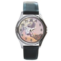 Horse Kisses Unisex Round Metal Watch Gift model 17000145 - $13.99