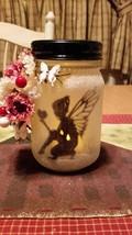 Hand Made Light up Fairy in a Jar night light/decor - $18.99