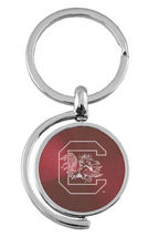 Carolina Gamecocks Logo Spinning Tab  Keychain ... - $11.95