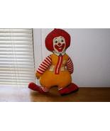 Ronald McDonald Doll, 1971 (McDonald's) - $30.00