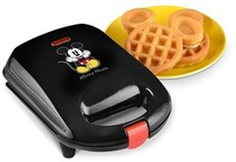 Disney DCM-9 Mickey Mini Waffle Maker, Black - €30,52 EUR