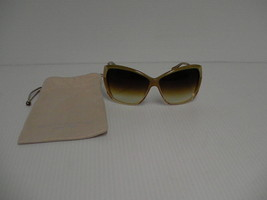 Authentic Oliver Peoples New Sunglasses Skyla Hammered Gold Amber Lense - $148.45