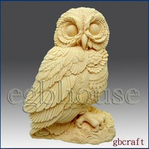 2D Silicone Soap Mold – Owl - $27.72