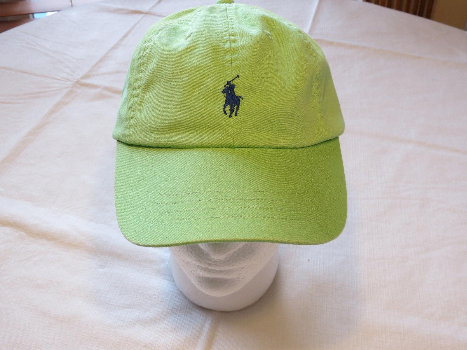 dca0d5a1457 57. 57. Previous. Mens Polo Ralph Lauren hat cap golf casual green blue  331002 adjustable classic · Mens Polo Ralph ...