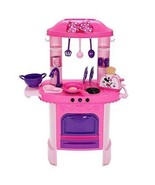 Disney Store Minnie Mouse Kitchen Playset with Accessories and Toaster - $112.70
