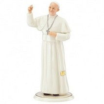 Lenox Pope Francis Figurine Papal Blessing Visit New York Philadelphia DC NEW - $57.42