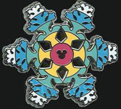 Disney Pin 85638 DLR 2011 Hidden Mickey Disneyland Icons Frozen Snowflake Space - $14.80