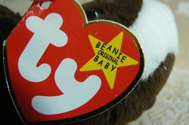 "Rare TY Original Beanie Babies "" Bruno "" The Dog Errors- #4183-Retired-Error image 7"