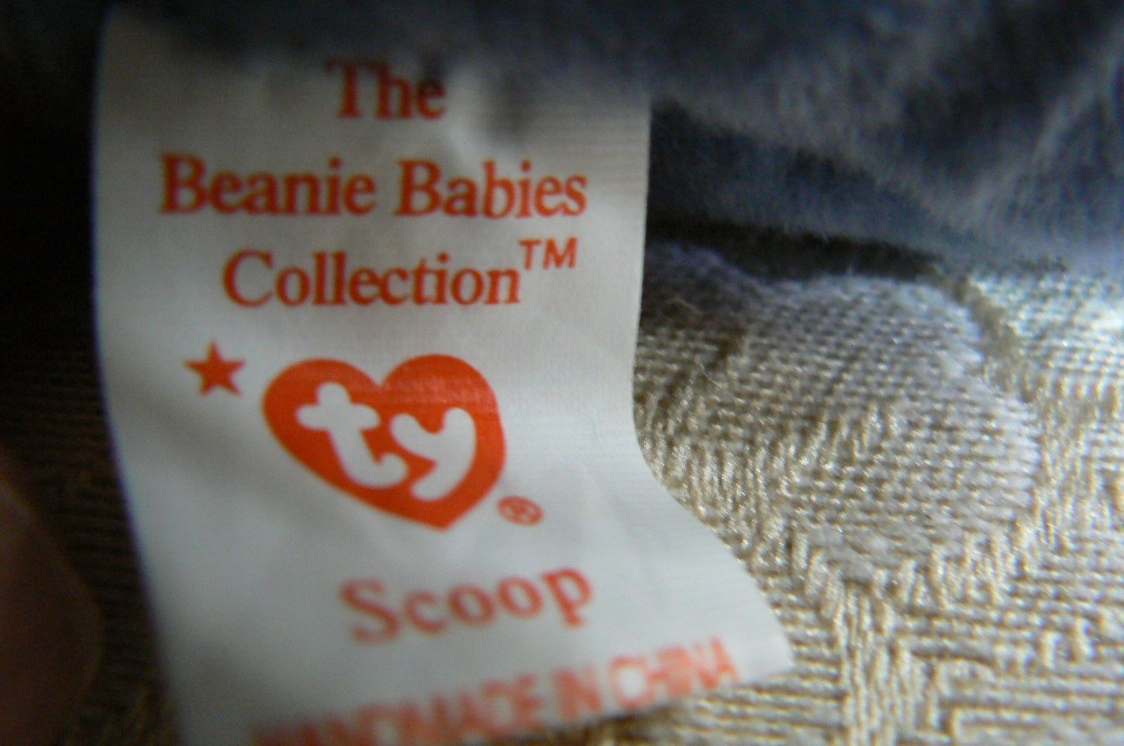 "Rare TY Original Beanie Babies "" Scoop "" The Pelican Errors- #4107-Retired image 7"
