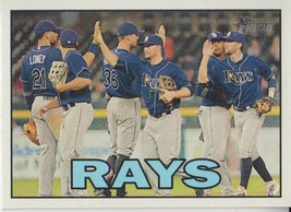Tampa Bay Rays 2016 Topps Heritage Team Card #344 - $0.99