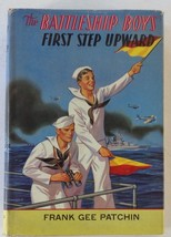The Battleship Boys First Step Upward Frank Gee Patchin Saalfield 1911 HCDJ - $9.41