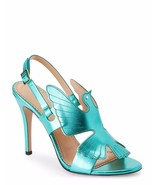 Charlotte Olympia Size 36, 6 High Spirits Sandals Turquoise NWOB - $139.00
