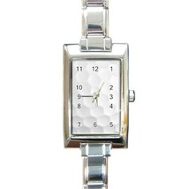 Ladies Rectangular Italian Charm Watch Golf Bal Gift model 32883861 - $11.99