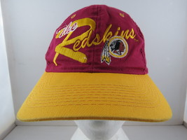 Washington Redskins Hat (VTG) - Script Front by Drew Preason - Adult Sna... - $45.00
