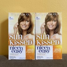 2x Clairol Sun Kissed Nice n Easy 7G Dark Golden Starburst Blonde Hair Color NEW - $39.55