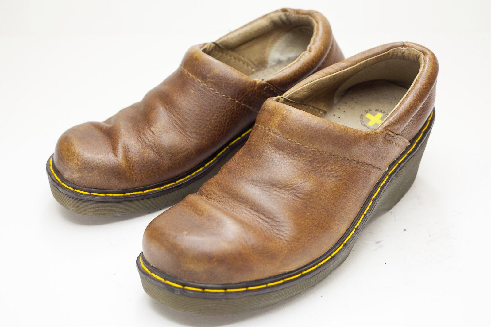 Dr. Martens 7 Brown Slip On Womens Shoes