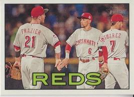 Cincinnati Reds 2016 Topps Heritage Team Card #362 - $0.99