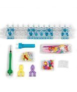 Craft STSTECH Rainbow Loom Kit5600 Rubber Bands 22 Colors 1 2 YShape Mini - £19.59 GBP