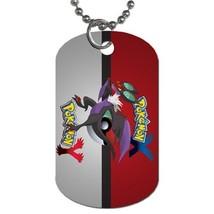 Custom Personalized Dog Tag Anime Pokemon X Yveltal Noivern Pet Dog Name... - $10.99