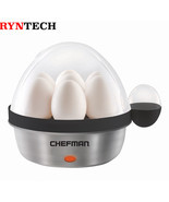 Chefman, Electric Egg Cooker, Black - $1.088,66 MXN