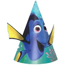 Finding Dory Birthday Party Cone Hats 8 Ct paper - $4.74