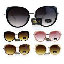 Giselle Womens Bat Shape Oversize Cat Eye Flat Lens Sunglasses - $12.95