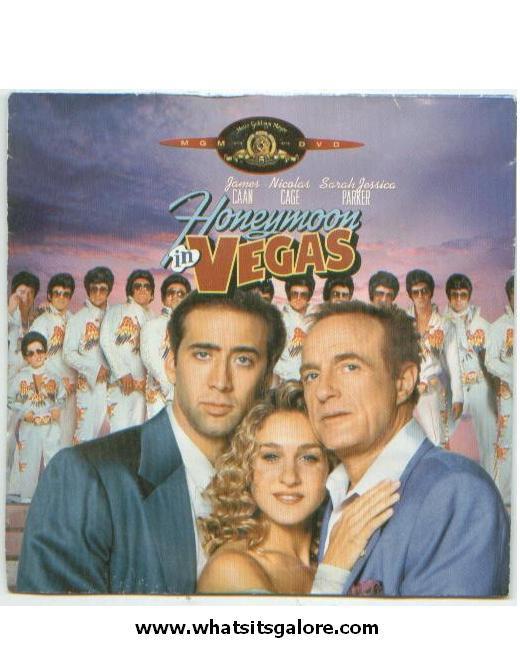 HONEYMOON IN VEGAS / Mr. Mom / AGENT CODY BANKS / Catch That Kid DVDs