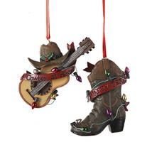 Western Themed Ornaments - $11.95