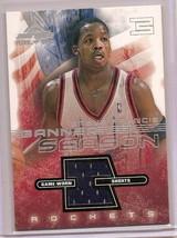 2001-02 Fleer Banner Season Steve Francis game worn shorts - $9.50