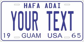 Guam 1965-9 Personalized Customs Novelty Tag Vehicle Car Auto License Plate - $16.75