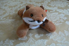 "Rare Ty Original Beanie Babies "" Sly "" The Fox - Retired Errors Mint Condition image 1"
