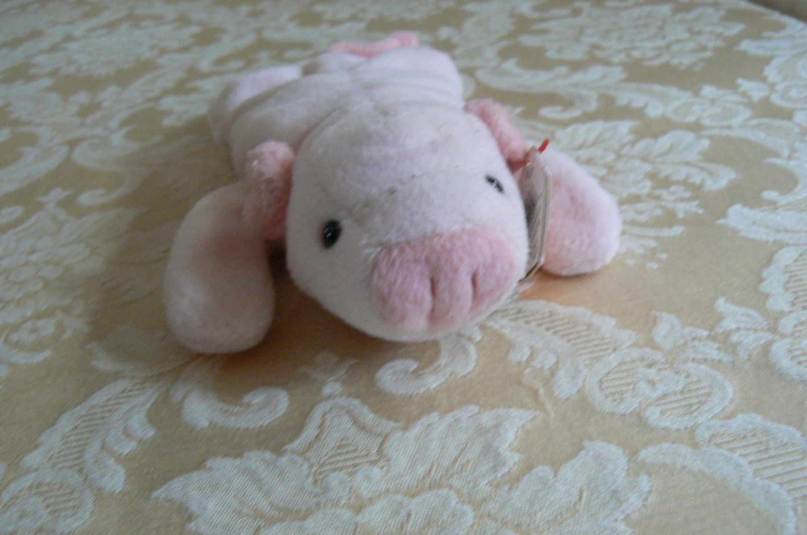"Rare Ty Original Beanie Babies "" Squealer "" The Pig - Retired Errors Mint 1993"