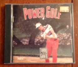 Turbo Grafx 16 Hu Card Power Golf 1989 Acceptable Condition. - $9.90
