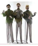Animated Life Size ZOMBIE HORDE PROP-Moaning So... - $197.97