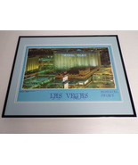 VINTAGE Las Vegas Imperial Palace Framed 16x20 Poster Display - $74.44