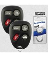 2 For 2002 2003 2004 2005 Chevrolet Blazer Keyless Entry Car Remote Key Fob - $14.82