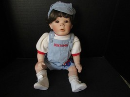 "Effanbee Doll Co Judith Turner 1992 ""Benjamin"" Doll 20"" - $15.95"