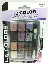 Eyeshadow BOLD L.A Colors 12 color Shade & Highlight Eye Shadow Chic #CB... - $7.61