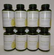 Eight pack: Nu Skin Nuskin Pharmanex Optimum Omega Omega-3 60 Softgels SEALED x8 - $136.00