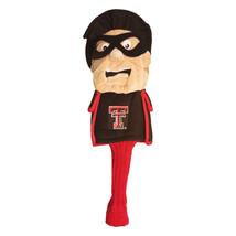 Texas Tech Raiders Team Golf Mascot Jumbo Headcover Ncaa Licensed - $28.61
