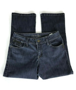 Lee Riders Womens Jeans Size 7/8 Cropped Medium Wash Stretch Denim - $22.63